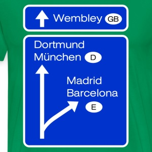 road to wembley T-Shirts - Men's Premium T-Shirt