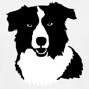 Border Collie by Lola T-Shirts - Männer T-Shirt
