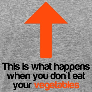 Eat your vegetables Tee shirts - T-shirt Premium Homme