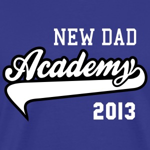 NEW DAD Academy 2013 2C T-Shirt WB - Premium T-skjorte for menn
