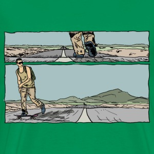longboard road Tee shirts - T-shirt Premium Homme
