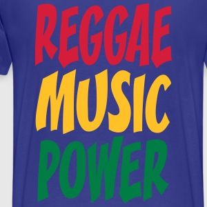 rasta music power Tee shirts - T-shirt Premium Homme