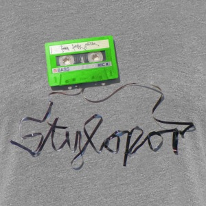 Tape (green) © by STYLOPOR - Frauen Premium T-Shirt