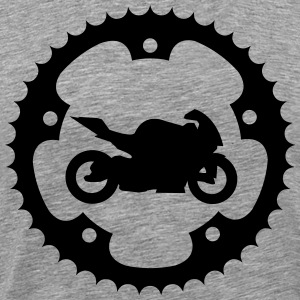 Chainring bike  T-Shirts - Men's Premium T-Shirt