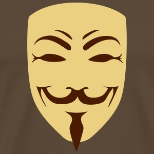 anonymous  geek - Männer Premium T-Shirt