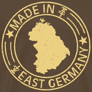 Made in East Germany Stempel Shirt - Männer Premium T-Shirt