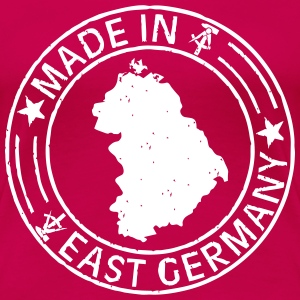Made in East Germany Stempel Shirt for Girls - Frauen Premium T-Shirt