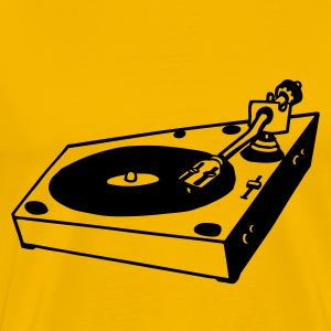 turntable dj - Männer Premium T-Shirt