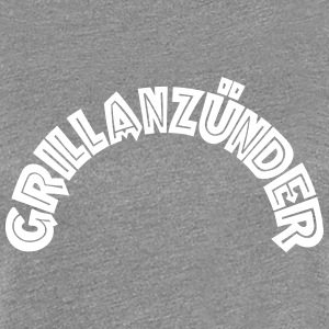 Grillanzünder Text T-Shirts - Frauen Premium T-Shirt