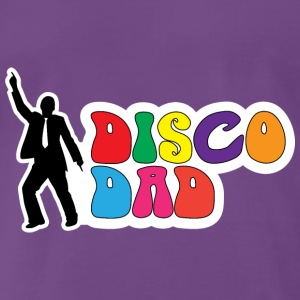 Disco Dad - Funny Gift for Dad T-Shirts - Men's Premium T-Shirt