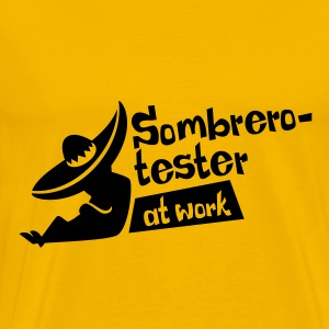 Sombrerotester at work - Männer Premium T-Shirt