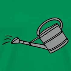 Garden t-shirt with watering can