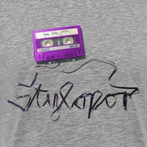 Tape (lila) © by STYLOPOR - Männer Premium T-Shirt