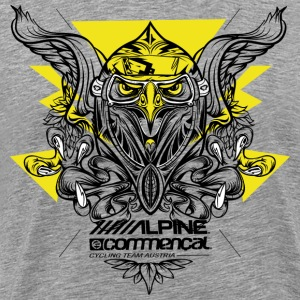 Eagle Shirt - Alpine Commencal -  GREY - Männer Premium T-Shirt