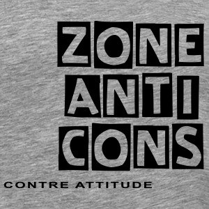 ZONE ANTI-CONS - T-shirt Premium Homme