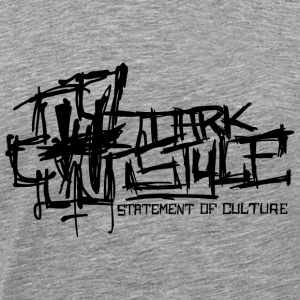 Dark Style - Statement Of Culture (black) - Männer Premium T-Shirt