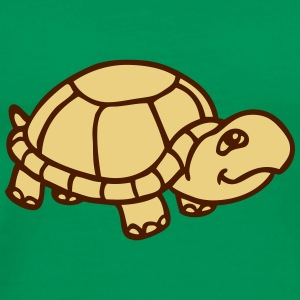 tiny cute turtle baby - Men's Premium T-Shirt