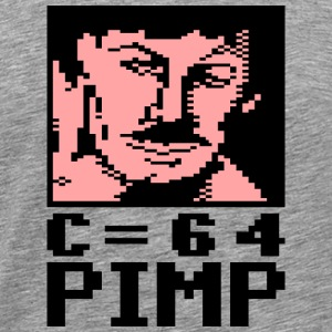 C64 Pimp Tony - Men's Premium T-Shirt