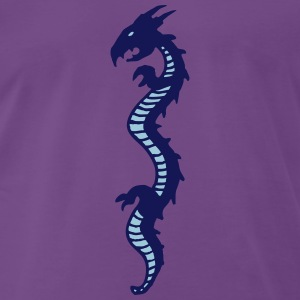 dragon2 T-shirts - Herre premium T-shirt