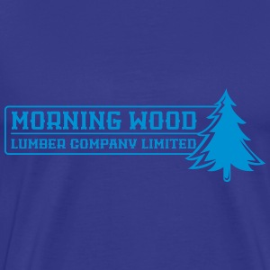Morning Wood Lumber Company - Men's Premium T-Shirt