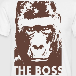 Gorilla - THE BOSS T-Shirts - Männer T-Shirt
