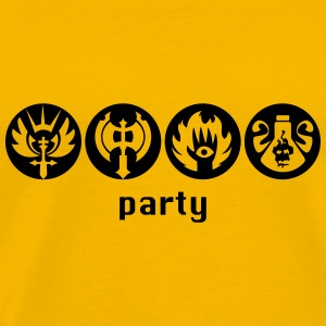 rpg party T-Shirts - Männer Premium T-Shirt