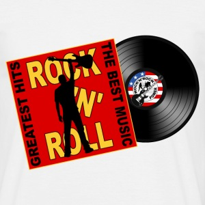 ROCK 'N' ROLL the best music T-Shirts - Men's T-Shirt