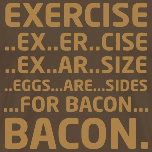 Bacon Logical Deduction - Men's Premium T-Shirt