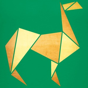 Origami: Lama (Pergament-Optik) Skjorter - Premium T-skjorte for barn