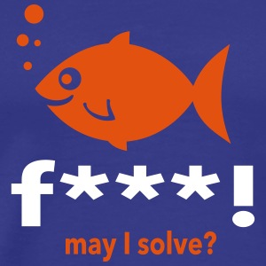 may i solve? T-Shirts - Men's Premium T-Shirt