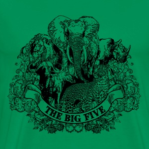 big_five game T-Shirts - Männer Premium T-Shirt