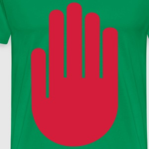 hand palm T-Shirts - Men's Premium T-Shirt