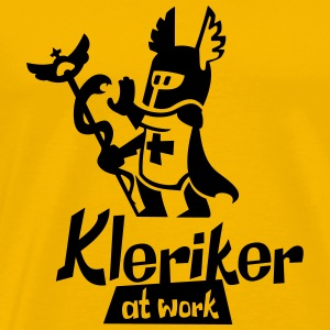 kleriker at work - Männer Premium T-Shirt