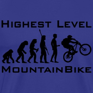 Highest Level MountainBike T-Shirts - Männer Premium T-Shirt