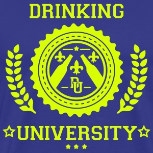 drinkke universitet T-shirts - Herre premium T-shirt