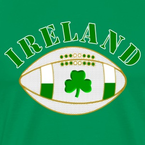 ireland styled rugby ball T-Shirts - Men's Premium T-Shirt