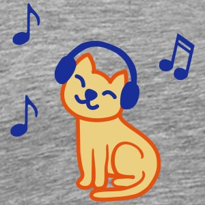 music_cat_color Tee shirts - T-shirt Premium Homme