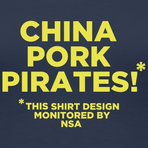 China Pork Pirates T-Shirts - Frauen Premium T-Shirt