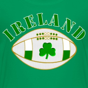 Ireland rugby clover bal Shirts - Teenage Premium T-Shirt