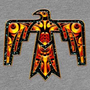 Thunderbird - native symbol power & strength T-Shirts - Women's Premium T-Shirt