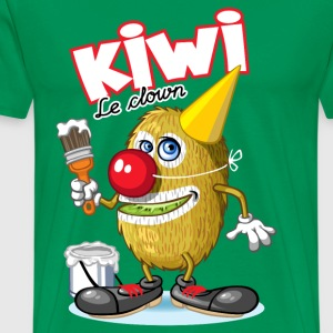 Kiwi le clown - T-shirt Premium Homme