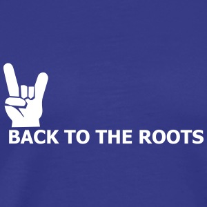 back to the roots T-Shirts - Männer Premium T-Shirt