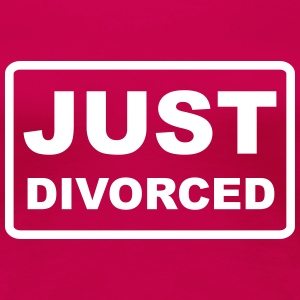 just divorced - Frauen Premium T-Shirt