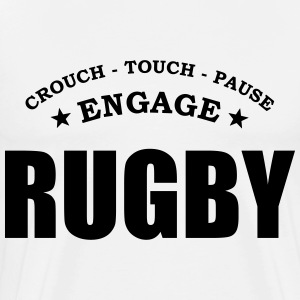 rugby scrum T-Shirts - Men's Premium T-Shirt