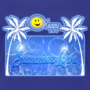 happy summer love Tee shirts - T-shirt Premium Femme