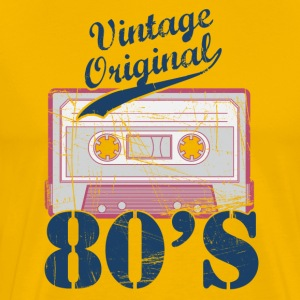 Tee shirt Mix-Tape Vintage Original 80's - T-shirt Premium Homme