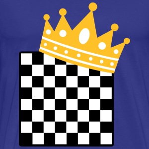 chess king T-Shirts - Men's Premium T-Shirt