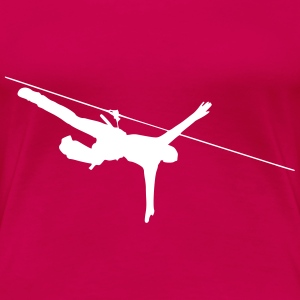 ropes course T-Shirts - Women's Premium T-Shirt