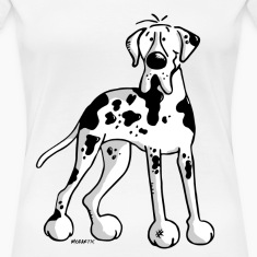 Great Dane - Dog - Dogs - Breed - Cartoon T-Shirts