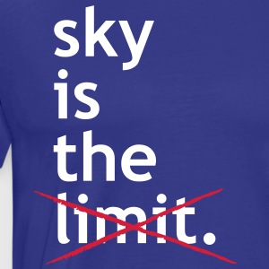 Sky Is The Limit - Männer Standard T-Shirt - Männer Premium T-Shirt
